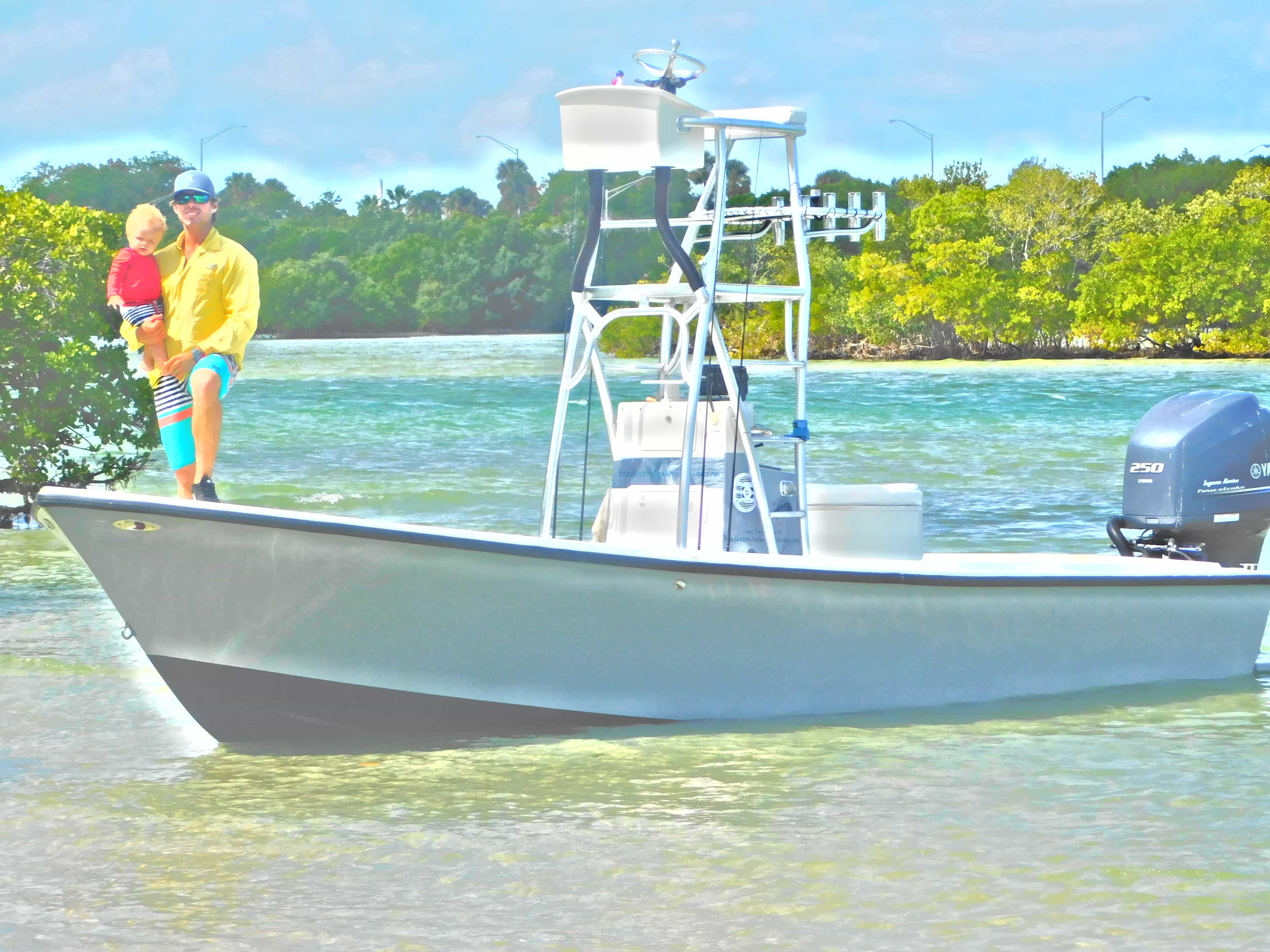 Captain Ryan Taylor Custom Boat