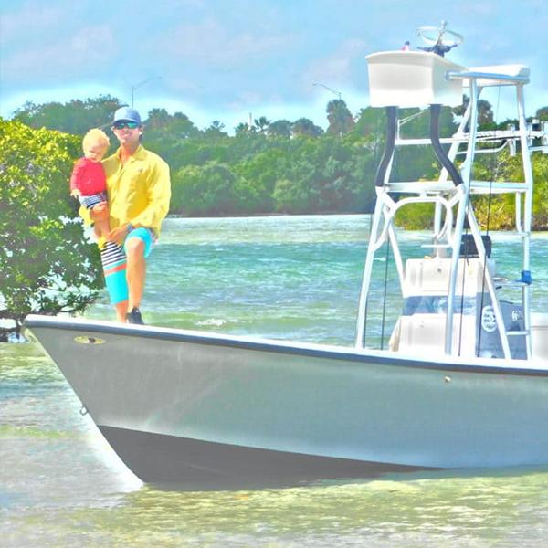 Captain Ryan Taylor Boat