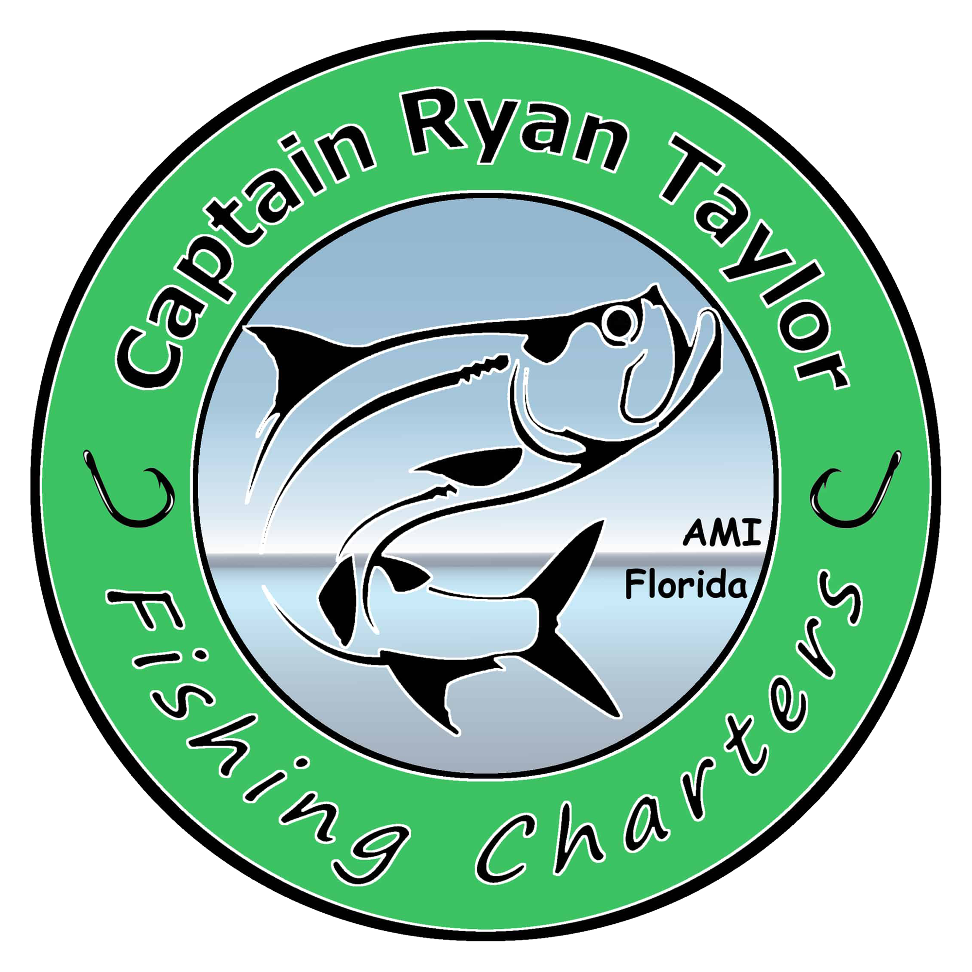 Captain Ryan Taylor Fishing Charter Logo